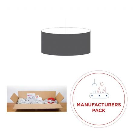 40cm Manufacturers Pack -  30 Drum Double-Sided  Lampshades